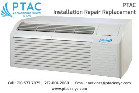 PTAC Installation Repair Replacement new york